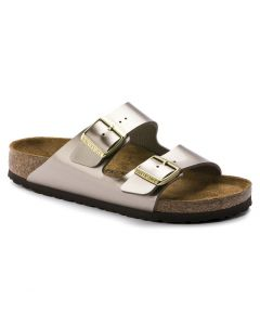 Birkenstock Arizona Taupe Metallic
