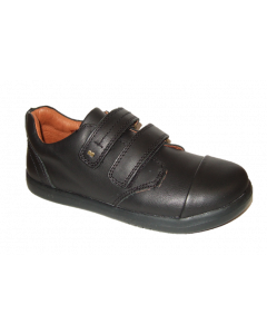 Bobux K+ Port Black Leather School Shoes