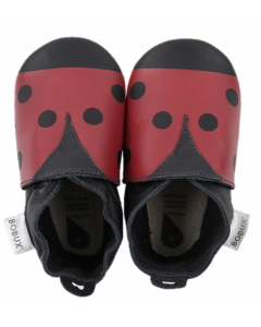 Bobux soft sole Ladybird