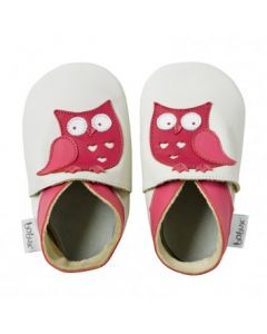 Bobux soft sole Milk Owl
