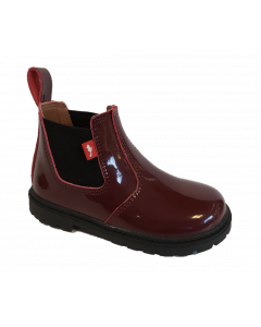 Chipmunks Ranch Burgundy Patent