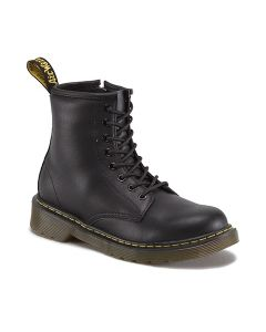 Dr. Martens Delaney Black Leather Boots