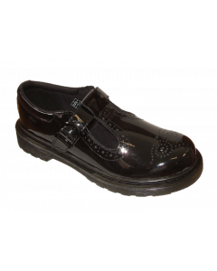 Dr. Martens Polley Patent Leather T-Bar