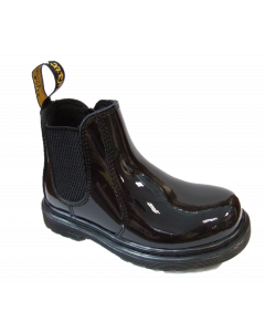 Dr. Martens Shenzi Black Patent Boots