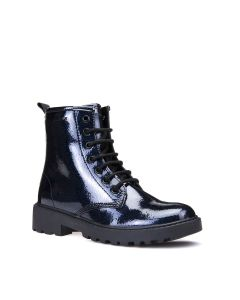 Geox Casey Navy Sparkle Boot
