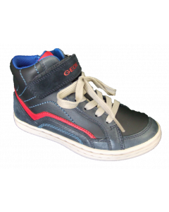 Geox Garcia Hi-Top Trainers