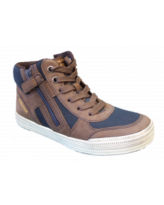 Geox Elvis Hi Top Trainer