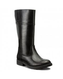 Geox Sofia Tall Leather Boots