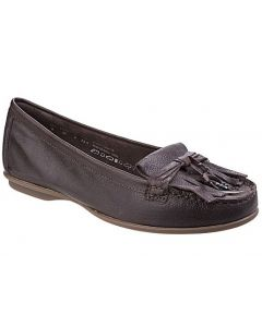 Hush Puppies Naveen Robyn Slip on Leather Shoes