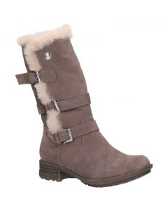 Hush Puppies Saluki Fur Trimmed Boots