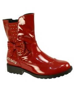 Lelli Kelly Pollie Red Patent Ankle Boots