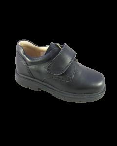 Petasil FRANZ Boys Black School Shoes