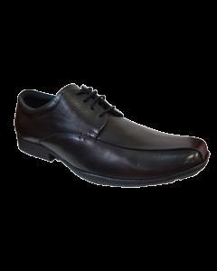 Pod Wessex Black Leather Lace-Up Shoes