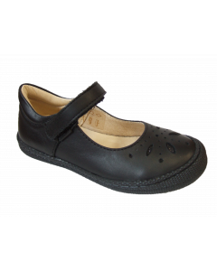 Primigi Clemence Black Leather SChool Shoes