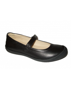 Primigi Giada Black Leather School Shoes