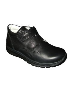 Primigi Hilton Black Leather School Shoes