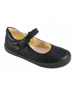 Primigi Morine Black Leather School Shoes