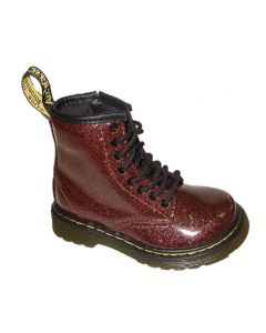 Dr. Martens 1460 Toddler Rose Brown Glitter