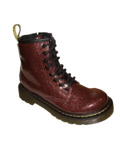 Dr. Martens 1460 Junior Rose Brown Glitter