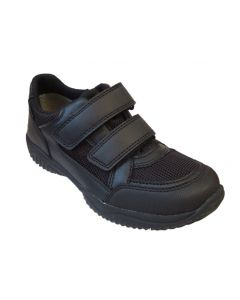 Superfit Tony Black Gore-tex Lined Leather School Shoes